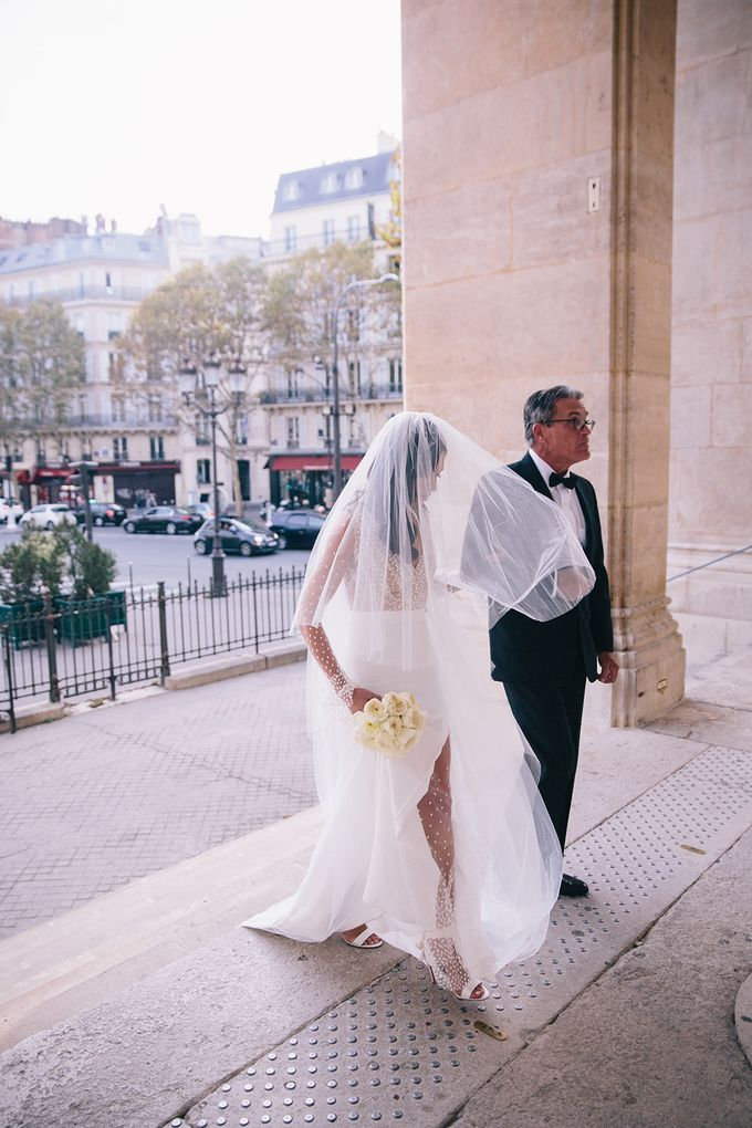 A Ritz Paris black tie wedding by Dorothée Le Goater Events - 035