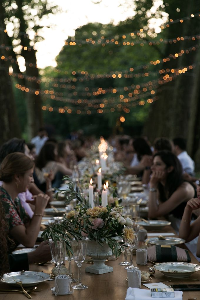 Al Fresco Wedding in the garden of a french castle by Dorothée Le Goater Events - 029