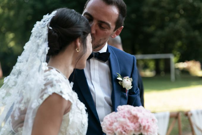Al Fresco Wedding in the garden of a french castle by Dorothée Le Goater Events - 003