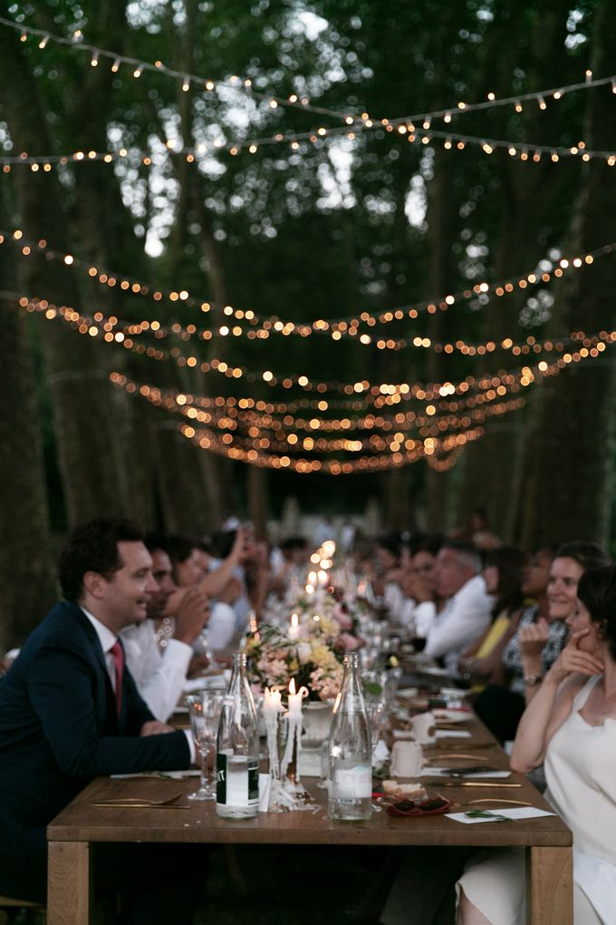 Al Fresco Wedding in the garden of a french castle by Dorothée Le Goater Events - 030