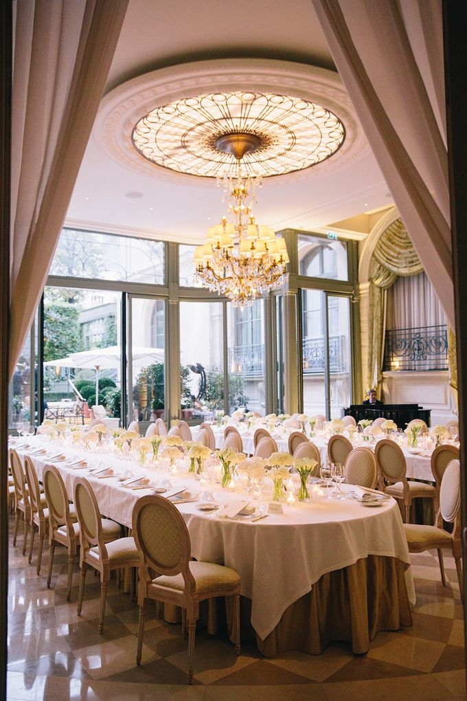 A Ritz Paris black tie wedding by Dorothée Le Goater Events - 001