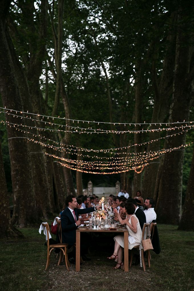 Al Fresco Wedding in the garden of a french castle by Dorothée Le Goater Events - 031