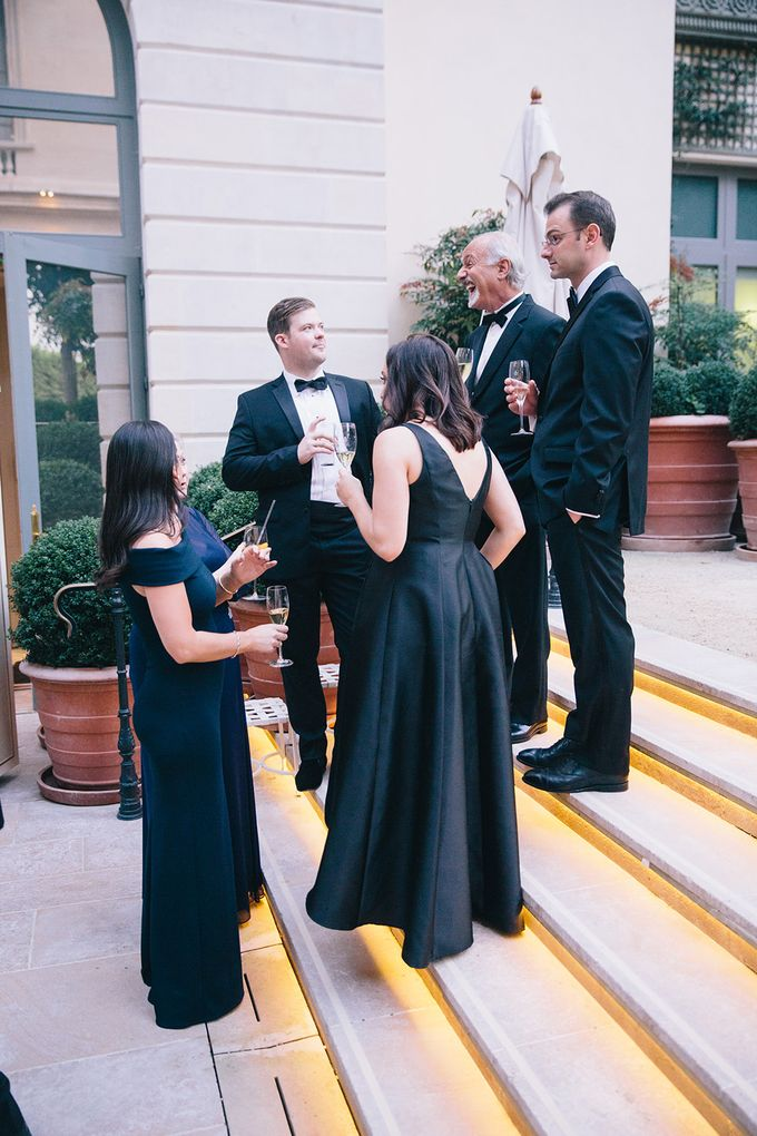 A Ritz Paris black tie wedding by Dorothée Le Goater Events - 037