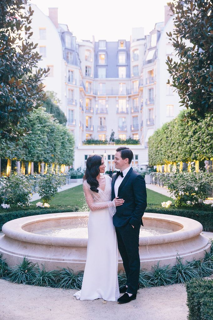 A Ritz Paris black tie wedding by Dorothée Le Goater Events - 039