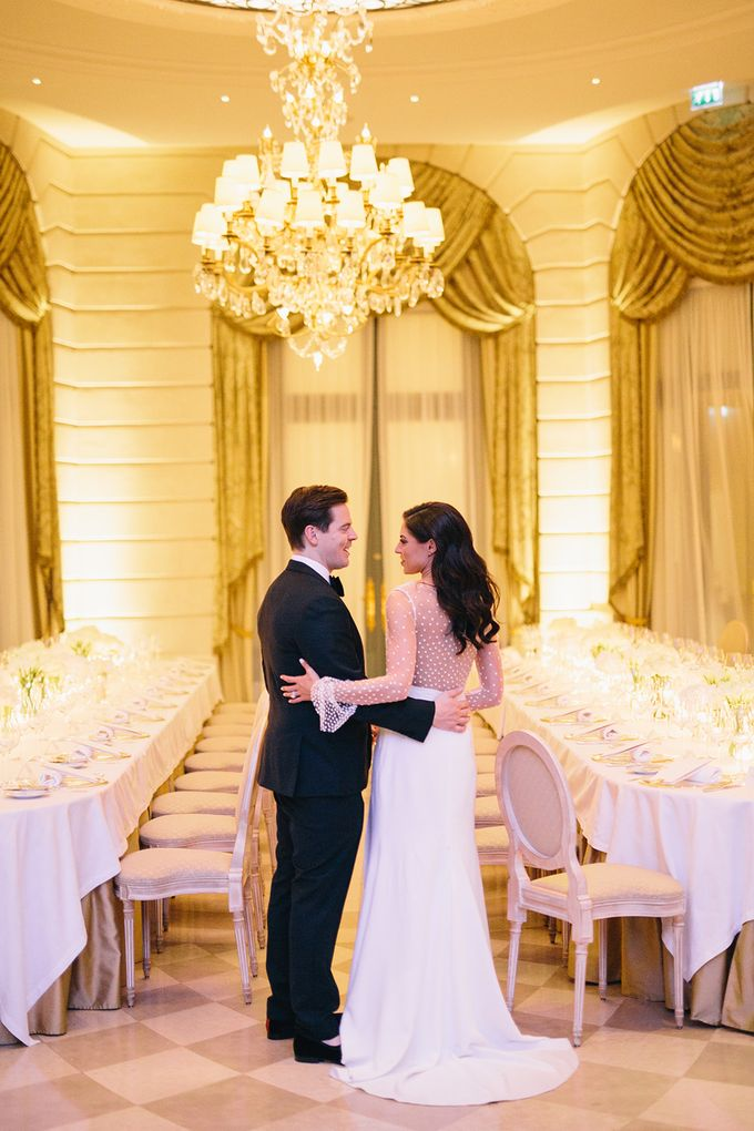 A Ritz Paris black tie wedding by Dorothée Le Goater Events - 041