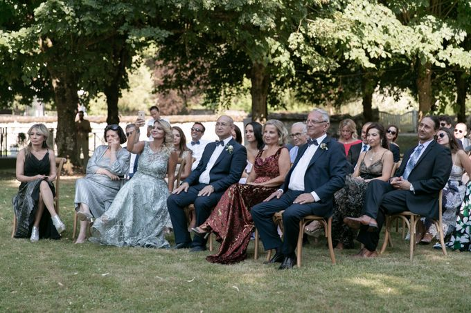 Al Fresco Wedding in the garden of a french castle by Dorothée Le Goater Events - 004