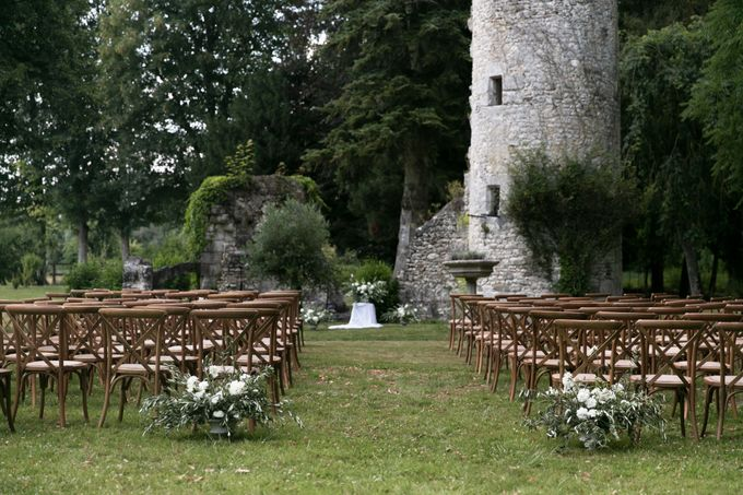 Al Fresco Wedding in the garden of a french castle by Dorothée Le Goater Events - 043