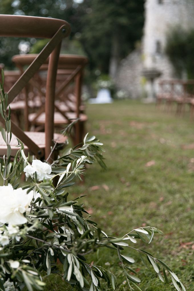 Al Fresco Wedding in the garden of a french castle by Dorothée Le Goater Events - 044