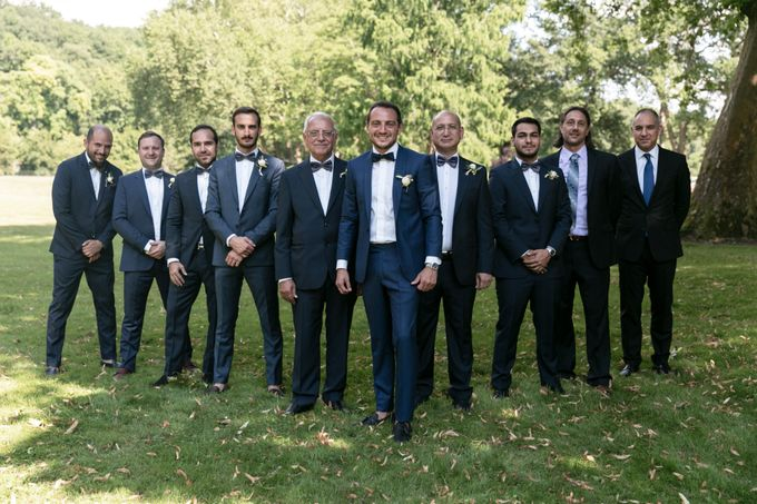 Al Fresco Wedding in the garden of a french castle by Dorothée Le Goater Events - 045