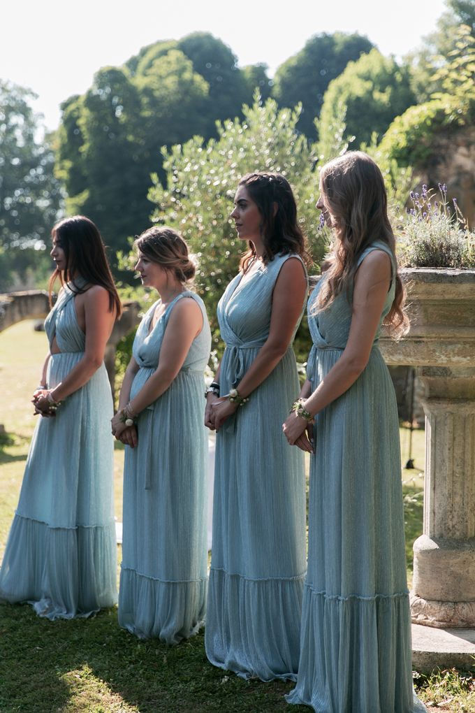 Al Fresco Wedding in the garden of a french castle by Dorothée Le Goater Events - 005