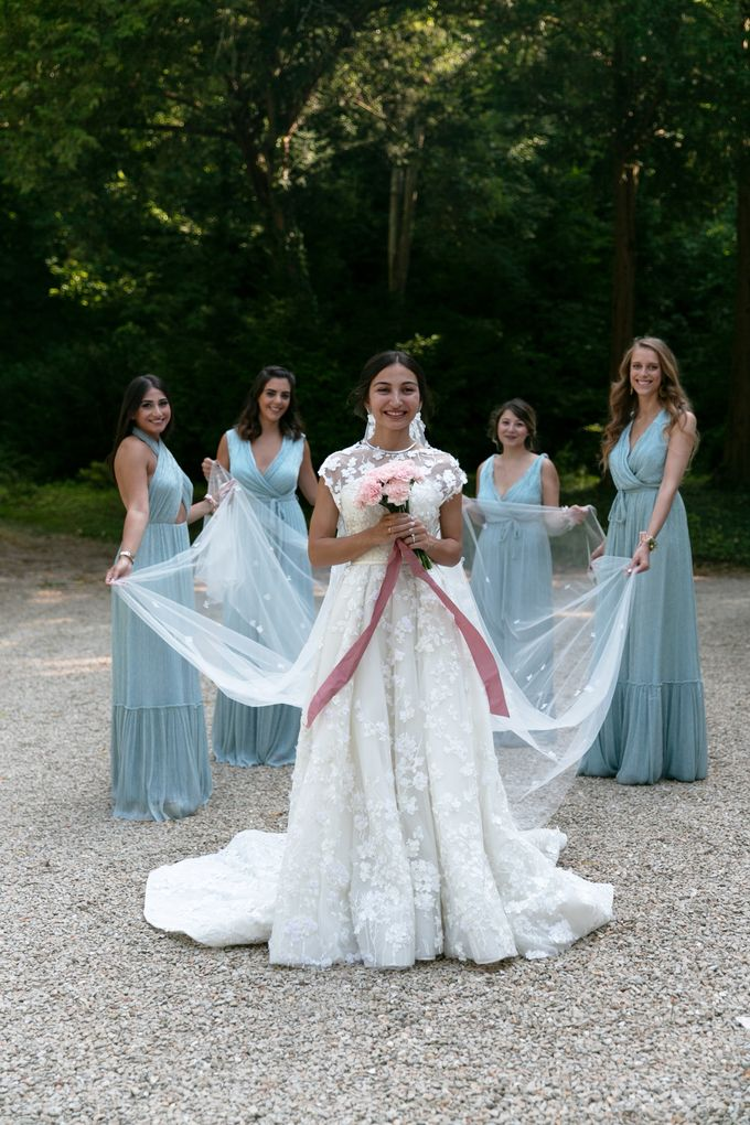 Al Fresco Wedding in the garden of a french castle by Dorothée Le Goater Events - 050