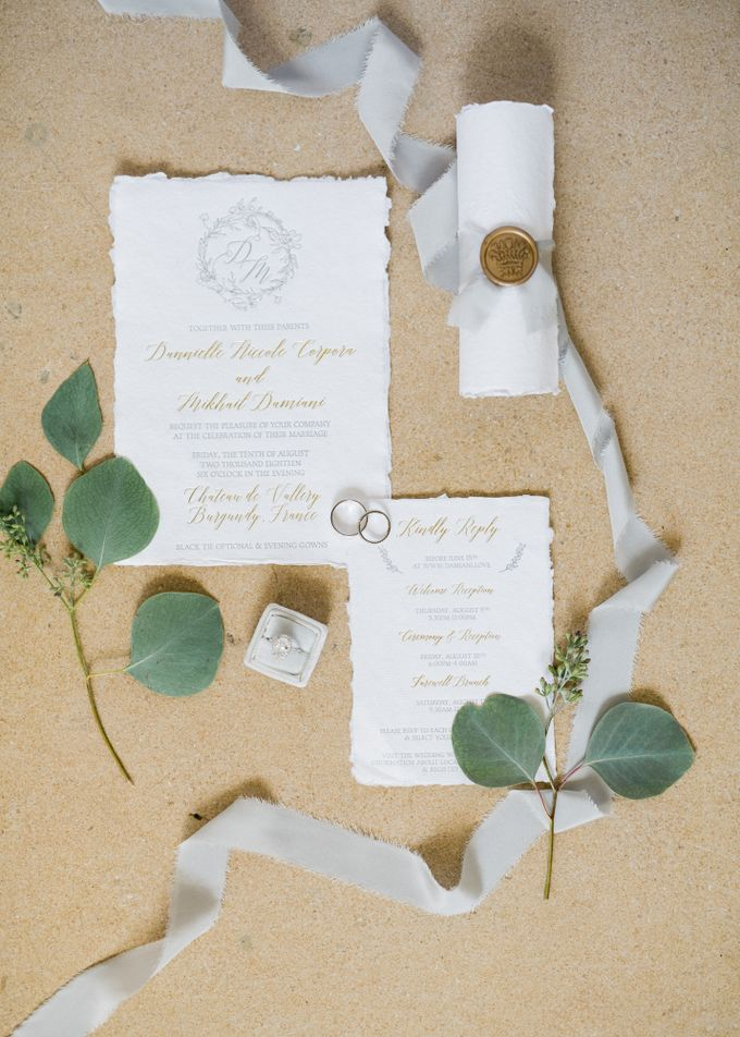 Fairytale castle wedding in France by Dorothée Le Goater Events - 006
