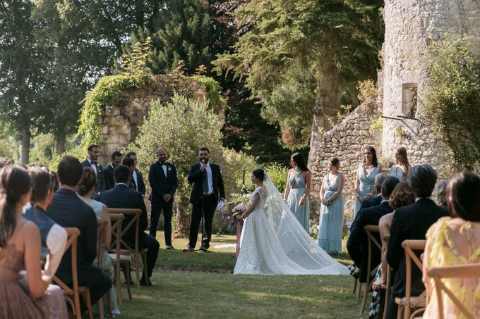 Al Fresco Wedding in the garden of a french castle by Dorothée Le Goater Events - 006