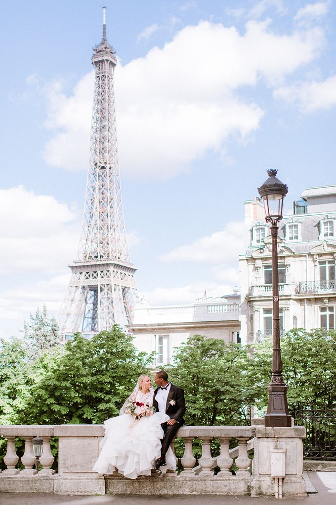 Private mansion luxury wedding in Paris by Dorothée Le Goater Events - 009