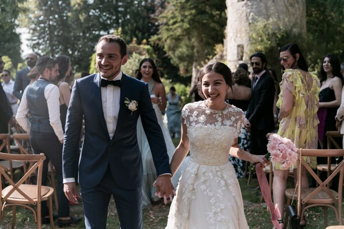 Al Fresco Wedding in the garden of a french castle by Dorothée Le Goater Events - 009