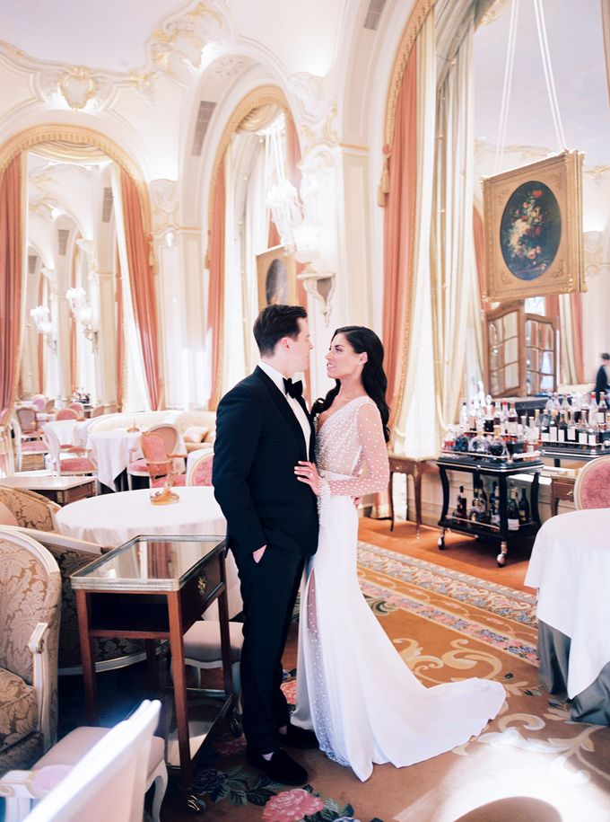 A Ritz Paris black tie wedding by Dorothée Le Goater Events - 015