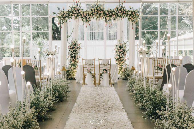 The Wedding of Daniel & Pamela by Elior Design - 004