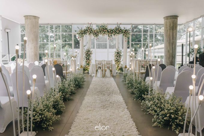 The Wedding of Daniel & Pamela by Elior Design - 005