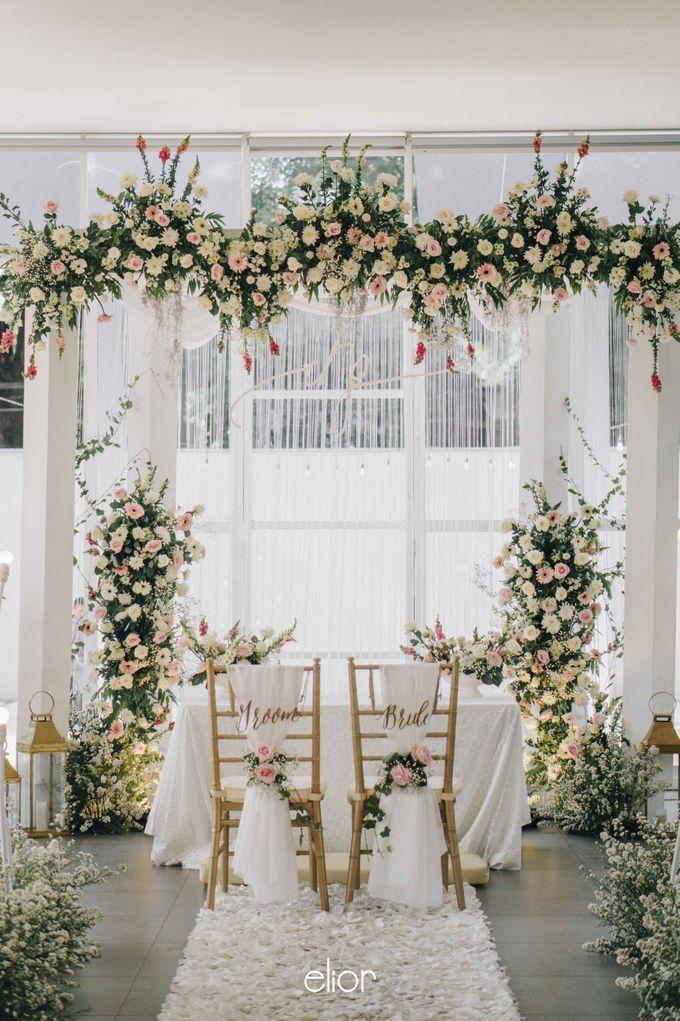The Wedding of Daniel & Pamela by Elior Design - 006