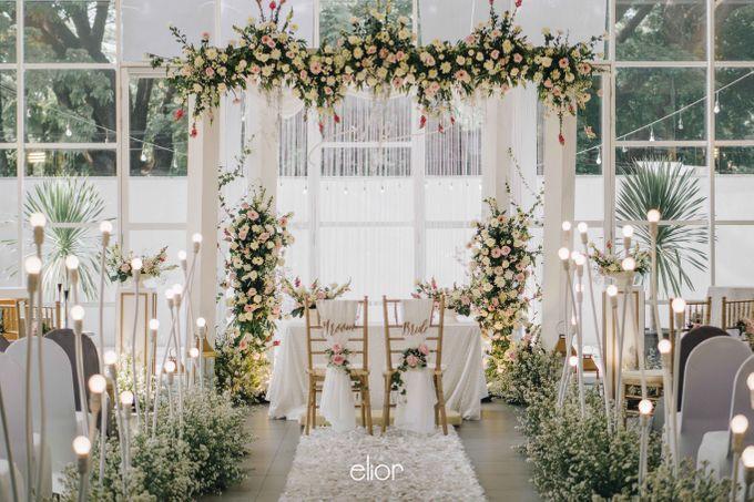 The Wedding of Daniel & Pamela by Elior Design - 008