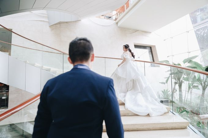 William & Selvi Wedding at Hilton Hotel by PRIDE Organizer - 026