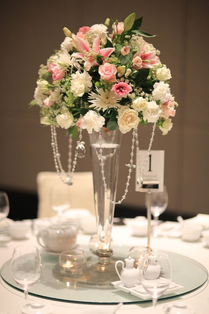 Reception Styling by Natural Art Flowers and Decors - 006