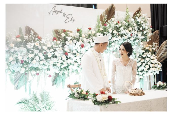 The Wedding of  Aisyah & Eky by Amorphoto - 001