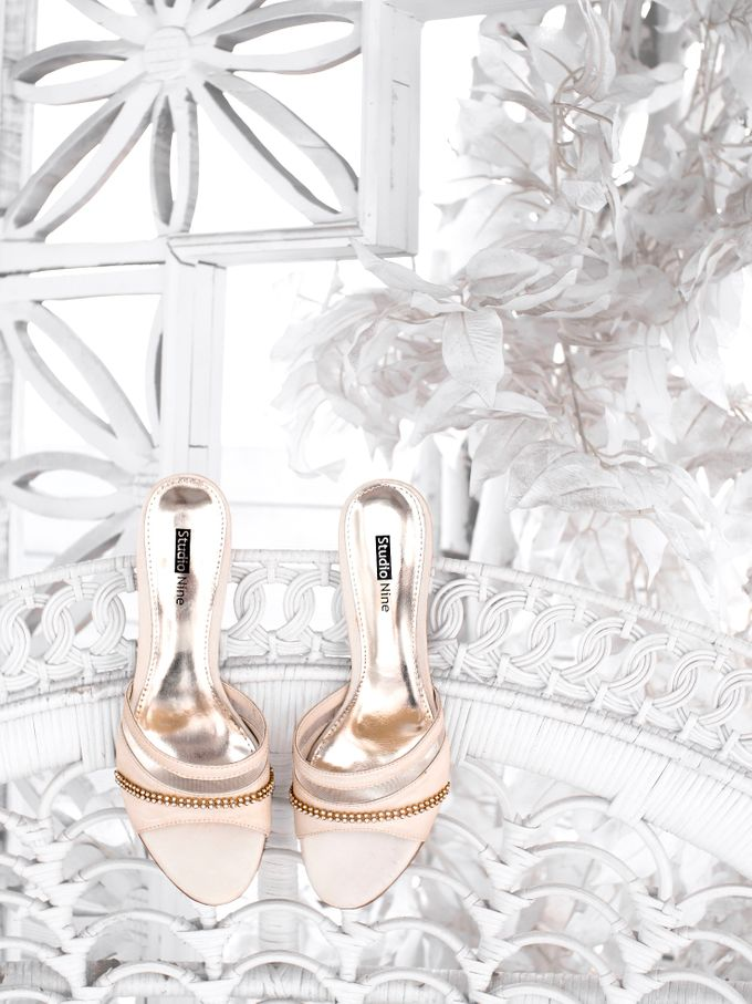 GOLD Wedding Shoes by Studio Nine Wedding Shoes - 006
