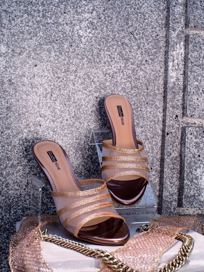 Wedding Sandal Wedges by Studio Nine Wedding Shoes - 002