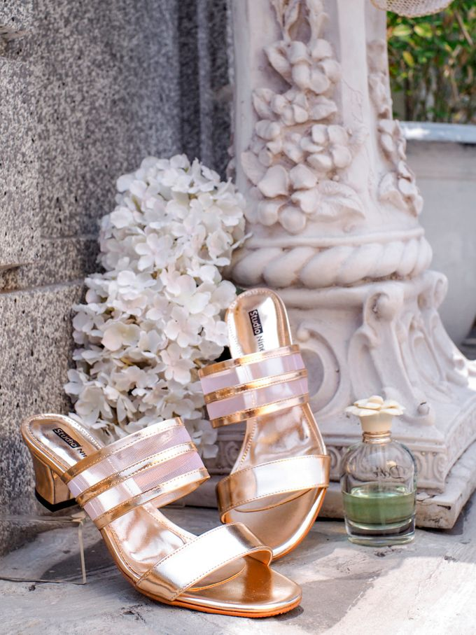GOLD Wedding Shoes by Studio Nine Wedding Shoes - 002