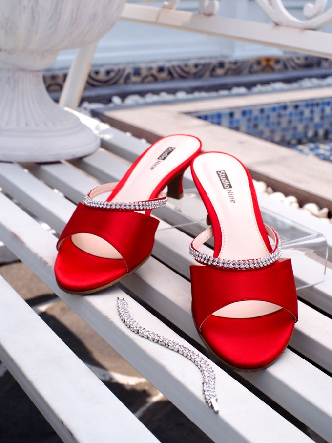HOT IN RED by Studio Nine Wedding Shoes - 001