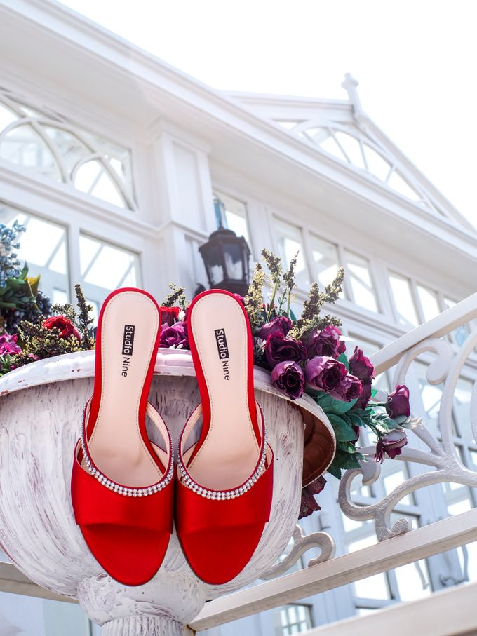HOT IN RED by Studio Nine Wedding Shoes - 002