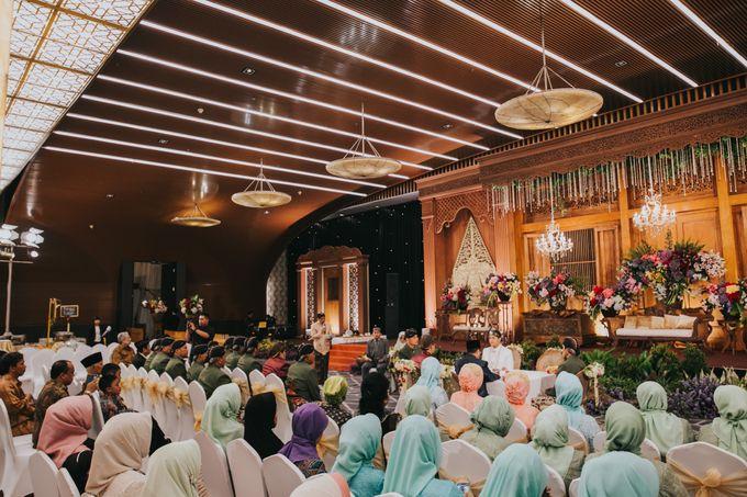 Javanese Akad of Reza & Dyah by  Menara Mandiri by IKK Wedding (ex. Plaza Bapindo) - 019