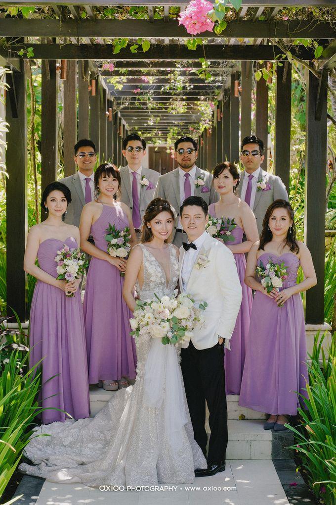 The Wedding Marcus & Sara by THE UNGASAN CLIFFTOP RESORT BALI - 004