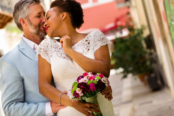 An Afro American wedding in Greece by MarrymeinGreece - 020