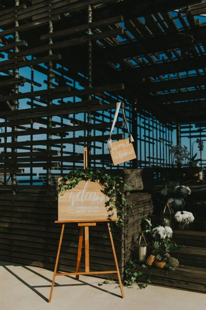 Alila Villas Uluwatu - Wedding of Kee Eun and Min by Alila Hotels and Resorts (Bali) - 016