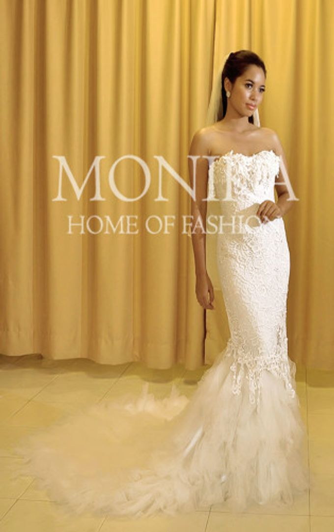 Dress - White by MONIKA WEBER Home of Fashion - 010