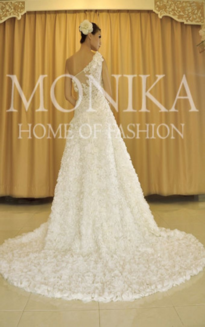 Dress - White by MONIKA WEBER Home of Fashion - 008