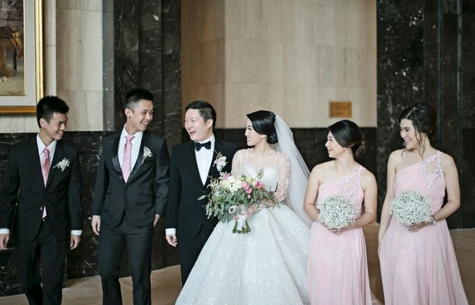Eric & Cindy Wedding by The Ritz-Carlton Jakarta, Mega Kuningan - 003