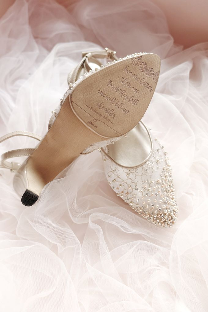 Yunita S Wedding Shoes Marry Me Bridal Shoes Bridestory