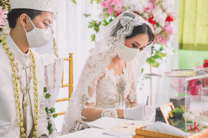 Akad Nikah Faiz & Quena by UK International Jakarta - 002