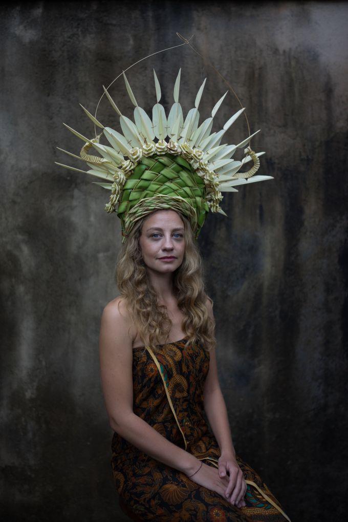 Wedding Headdresses by Make A Scene! Bali - 005