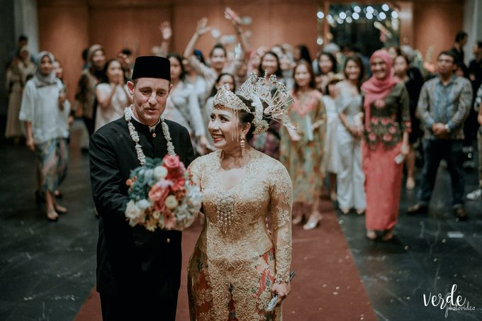 The Wedding Vaughn & Indri by AVIARY Bintaro - 013