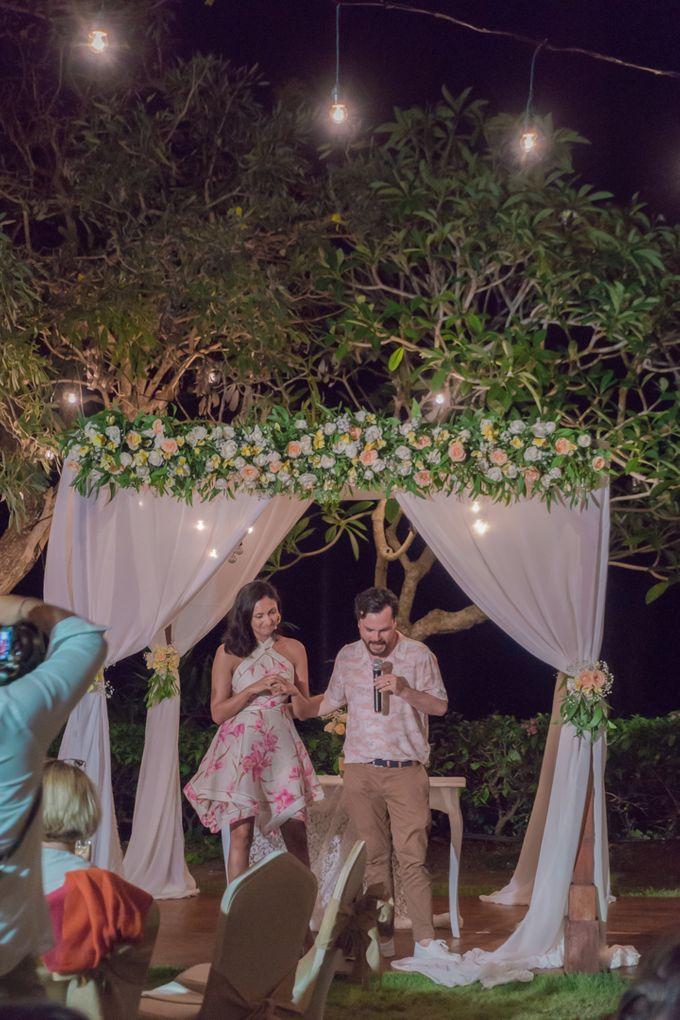 Aditi & Matt Wedding by Le Grande Bali Uluwatu - 004