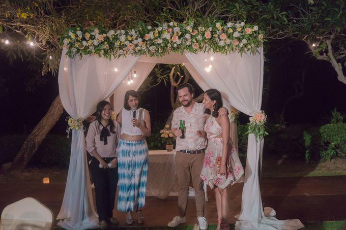 Aditi & Matt Wedding by Le Grande Bali Uluwatu - 008