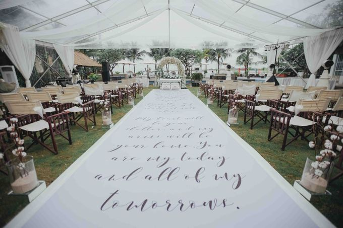 The Beautiful Classic White Wedding by Memoir Paperie - 007