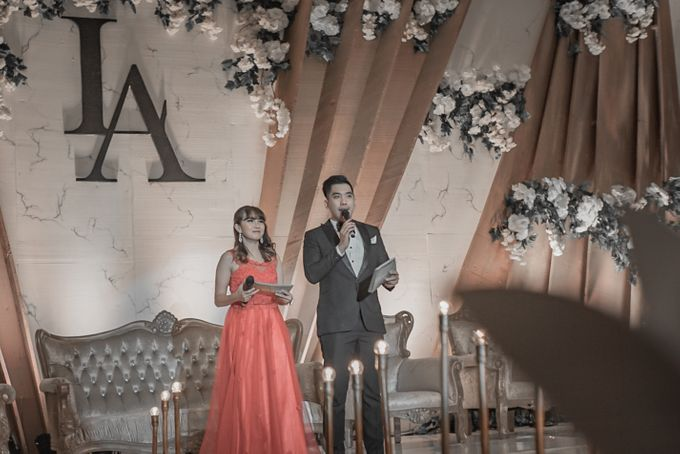 Engagement of LIVIA & ALBERT by Aldo Adela MC & Magician - 002