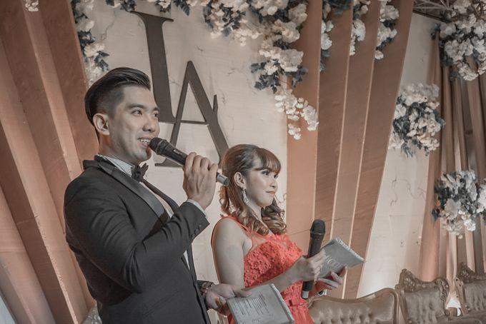 Engagement of LIVIA & ALBERT by Aldo Adela MC & Magician - 001