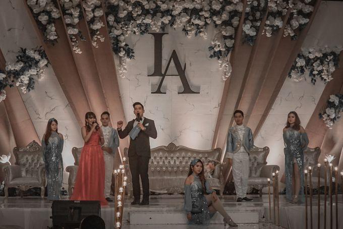 Engagement of LIVIA & ALBERT by Aldo Adela MC & Magician - 007