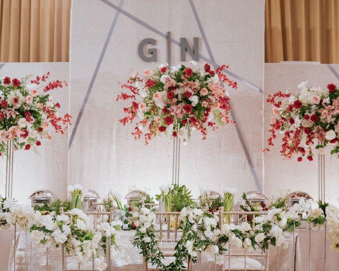 Wedding of Ghafiq & Nenes by Minity Catering - 004